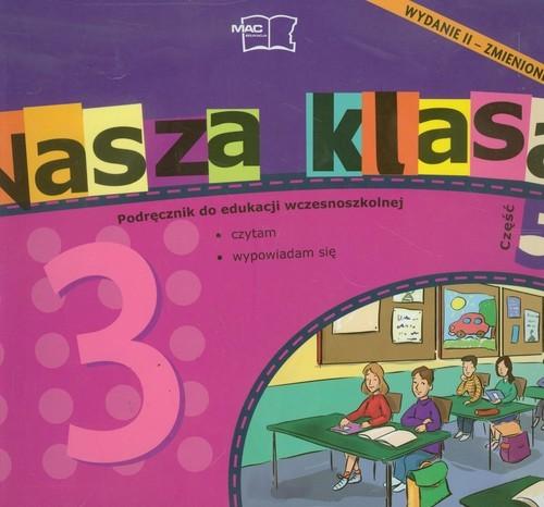 okładka Nasza klasa 3 Podręcznik część 5 Edukacja wczesnoszkolna Szkoła podstawowa, Książka |