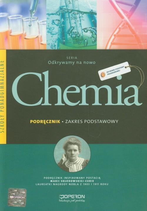 okładka Chemia Podręcznik Zakres podstawowy szkoła ponadgimnazjalna, Książka | Sikorski Artur