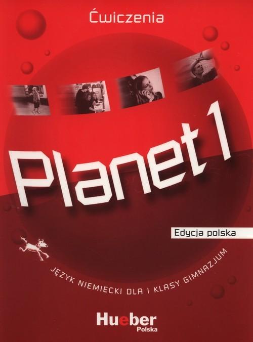 okładka Planet 1 Ćwiczenia Gimnazjum, Książka | Gabriele Kopp, Siegfried Buttner, Danut Koper