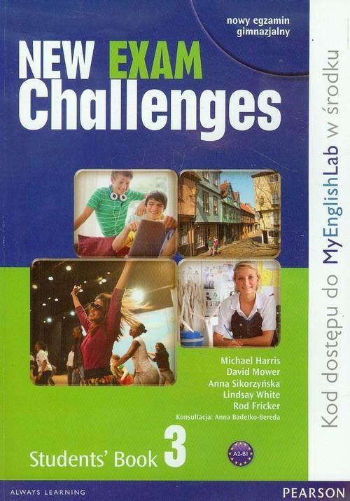 okładka New Exam Challenges 3 Student's Book Gimnazjum, Książka | Michael Harris, David Mower, Anna Sikorzyńska