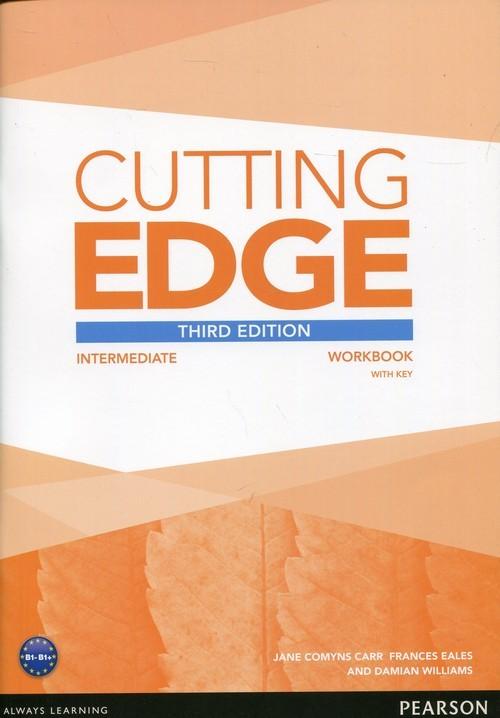 okładka Cutting Edge Intermediate Workbook with key, Książka | Carr Jane Comyns, Frances Eales, Dam Williams