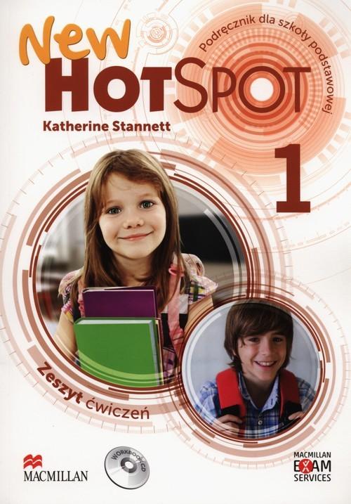 okładka New Hot Spot 1 Zeszyt ćwiczeń z płytą CD Szkoła podstawowa, Książka | Stannet Katherine