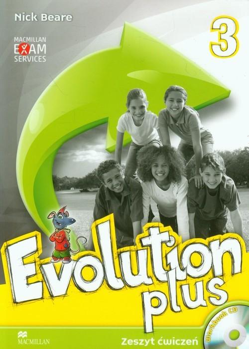 okładka Evolution Plus 3 Zeszyt ćwiczeń z płytą CD Szkoła podstawowa, Książka | Beare Nick