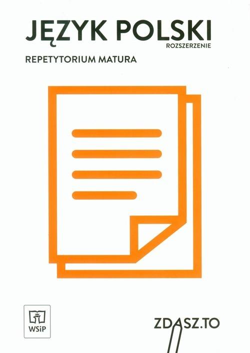 okładka Język polski Repetytorium Matura Zakres rozszerzony, Książka |