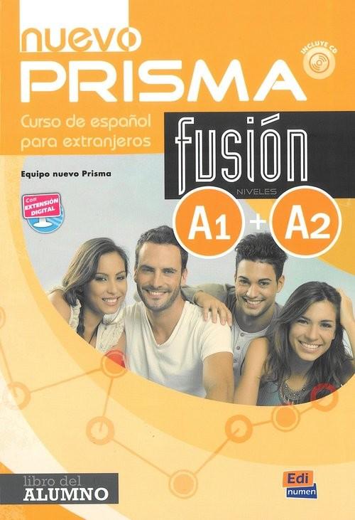 okładka Nuevo Prisma fusion A1+A2 Podręcznik, Książka |