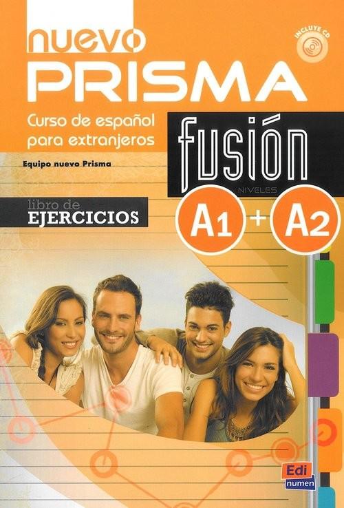 okładka Nuevo Prisma fusion A1+A2 Ćwiczenia, Książka |