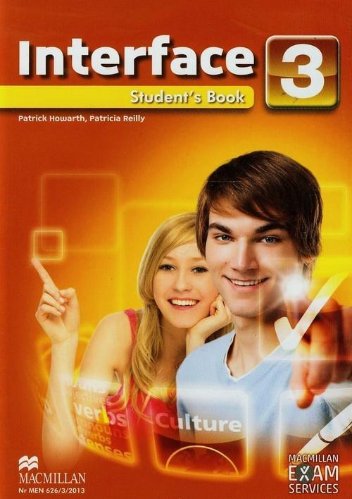 okładka Interface 3 Student's Book + CD, Książka | Patrick Howarth, Patricia Reilly