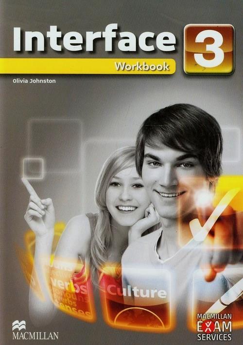 okładka Interface 3 Workbook Gimnazjum, Książka | Johnston Olivia