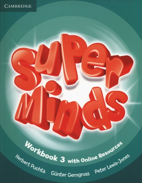 okładka Super Minds 3 Workbook +Online, Książka | Herbert Puchta, Gunter Gerngross, Lewis-Jones