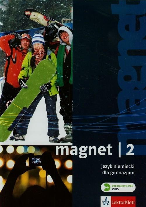 okładka Magnet 2 Podręcznik + CD Gimnazjum, Książka | Motta Giorgio