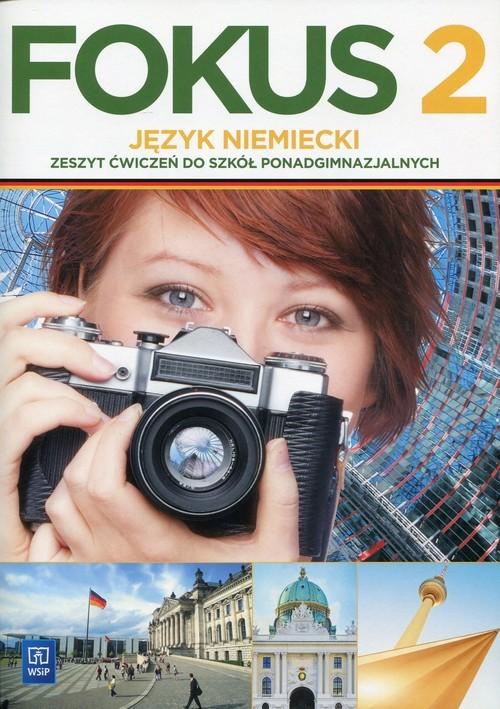 okładka Fokus 2 Język niemiecki Zeszyt ćwiczeń Szkoła ponadgimnazjalna, Książka | Kryczyńska-Pham Anna