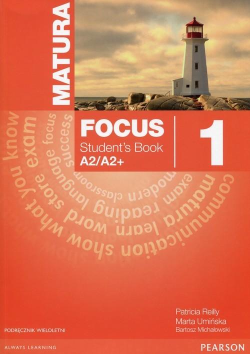 okładka Matura Focus 1 Students Book + CD Podręcznik wieloletni A2/A2+książka |  | Sue Kay, Vaughan Jones, Braysh