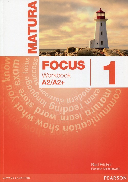okładka Matura Focus 1 Workbook, Książka | Sue Kay, Vaughan Jones, Braysh