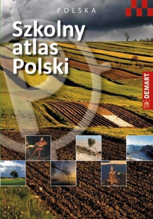 okładka Szkolny atlas Polski, Książka |