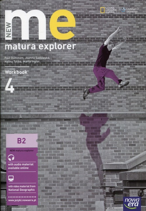 okładka New Matura Explorer 4 Workbook Szkoła ponadgimnazjalna Poziom B2, Książka | Paul Dummett, Rebecca Robb Benne, Mart Inglot