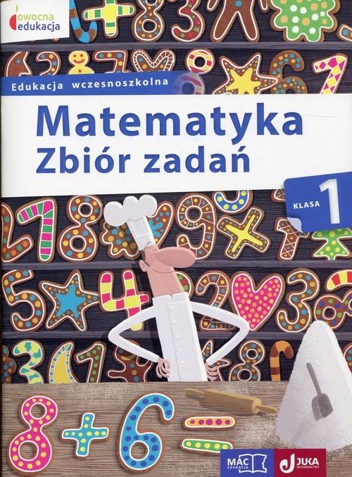 okładka Matematyka 1 Zbiór zadań Edukacja wczesnoszkolna, Książka | Wiązowska Małgorzata