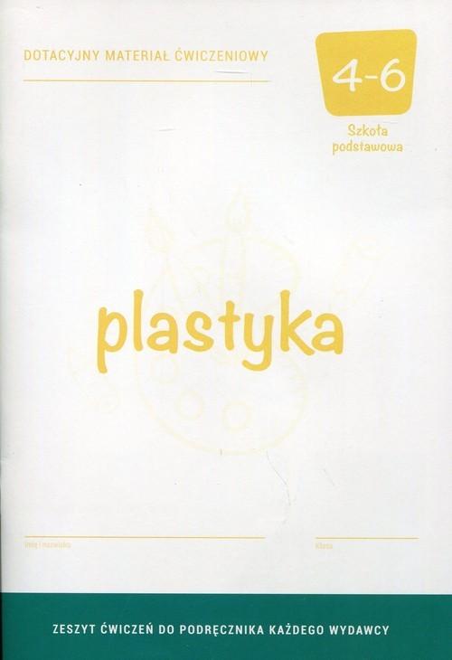 okładka Plastyka 4 Dotacyjny materiał ćwiczeniowy Szkoła podstawowa, Książka | Florianowicz Piotr