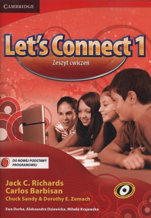 okładka Let's Connect 1 Zeszyt ćwiczeń Szkoła podstawowaksiążka |  | Jack C. Richards, Carlos Barbisan, Chuc Sandy