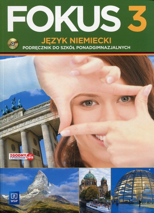 okładka Fokus 3 Język niemiecki Podręcznik z płytą CD, Książka | Kryczyńska-Pham Anna