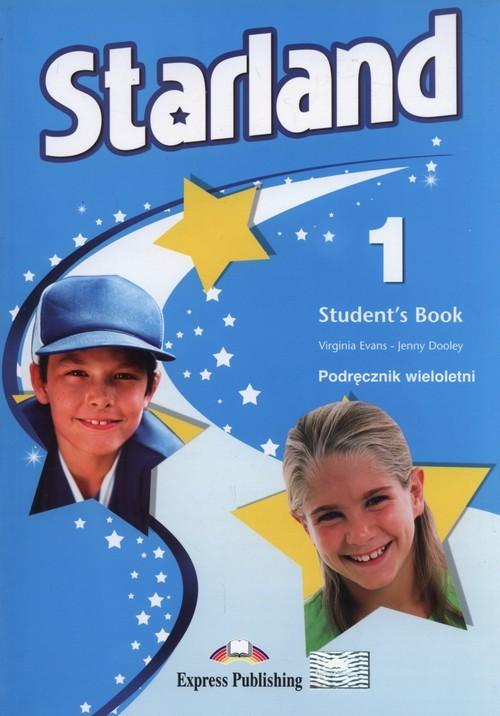 okładka Starland 1 Podręcznik wieloletni Szkoła podstawowa, Książka   Virginia Evans, Jenny Dooley