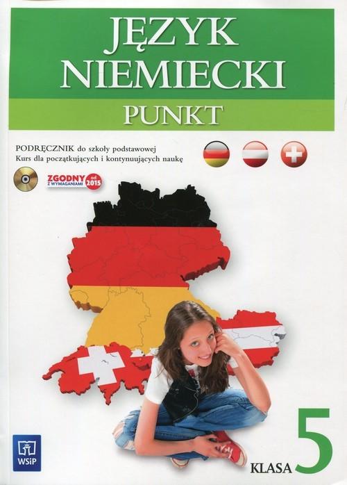 okładka Punkt 5 Język niemiecki Podręcznik z płytą CD Szkoła podstawowa, Książka | Potapowicz Anna