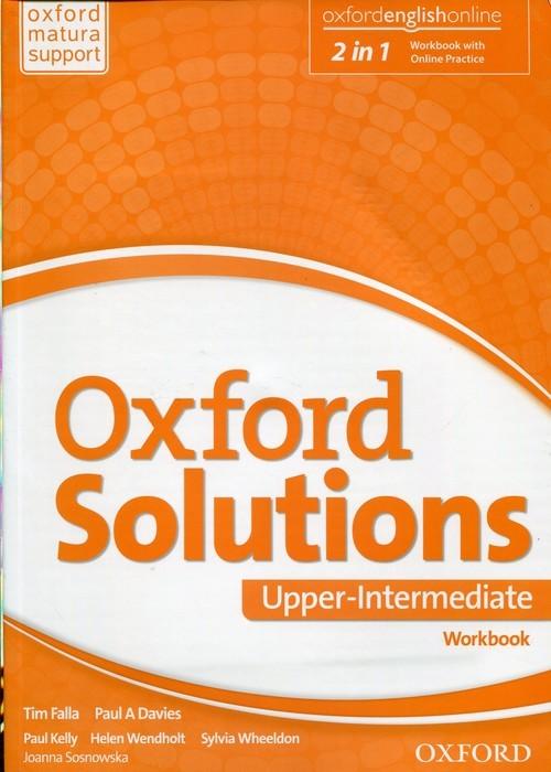 okładka Oxford Solutions Upper Intermediate Ćwiczenia, Książka | Joanna Sosnowska, Tim Falla, Paul A. Davies