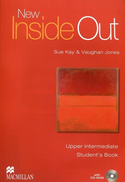 okładka New Inside Out Upper Intermediate Student's Book + CDksiążka |  | Sue Kay, Vaughan Jones