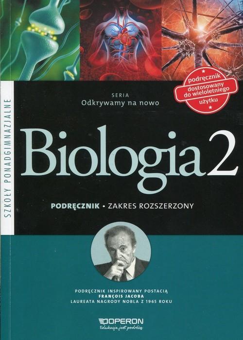 okładka Odkrywamy na nowo Biologia 2 Podręcznik Zakres rozszerzony Szkoła ponadgimnazjalna, Książka | Dawid Kaczmarek, Monika Zaleska-Szczygieł