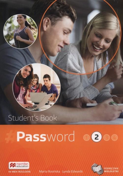 okładka Password 2 Podręcznik wieloletni + CD Szkoły ponadgimnazjalne, Książka | Marta Rosińska, Lynda Edwards
