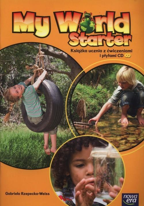 okładka My World Starter Książka ucznia z ćwiczeniami + CD Wychowanie przedszkolne, Książka | Rzepecka-Weiss Gabriela