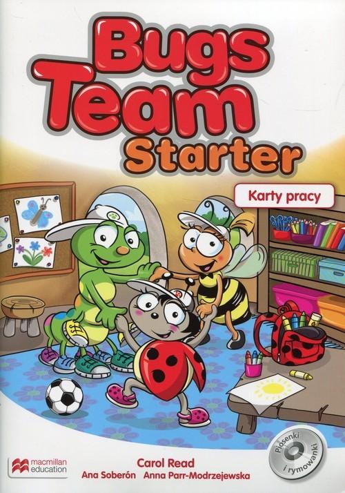 okładka Bugs Team Starter Karty pracy, Książka | Carol Read, Ana Soberon, An Parr-Modrzejewska