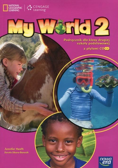 okładka My World 2 Podręcznik z płytami CD Szkoła podstawowa, Książka | Health Jennifer