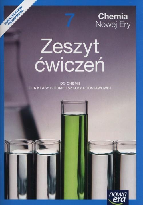 okładka Chemia Nowej Ery 7 Zeszyt ćwiczeń Szkoła podstawowa, Książka | Małgorzata Mańska, Elżbieta Megiel