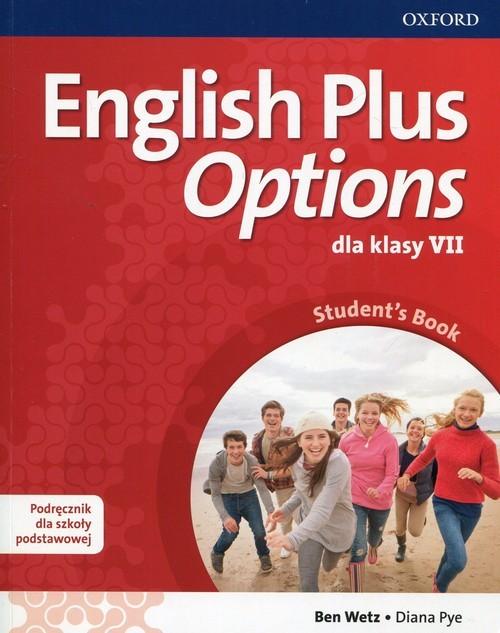 okładka English Plus Options 7 Podręcznik z płytą CD Szkoła podstawowa, Książka | Ben Wetz, Diana Pye