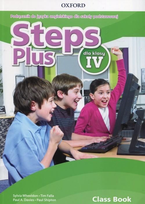 okładka Steps Plus 4 Podręcznik z płytą CD Szkoła podstawowa, Książka | Sylvia Wheeldon, Tim Falla, Paul A. Davies