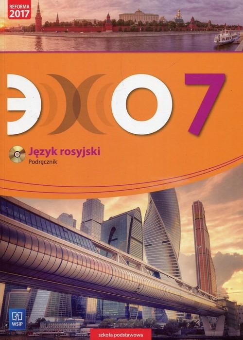 okładka Echo Język rosyjski 7 Podręcznik + CD Szkoła podstawowa, Książka | Gawęcka-Ajchel Beata