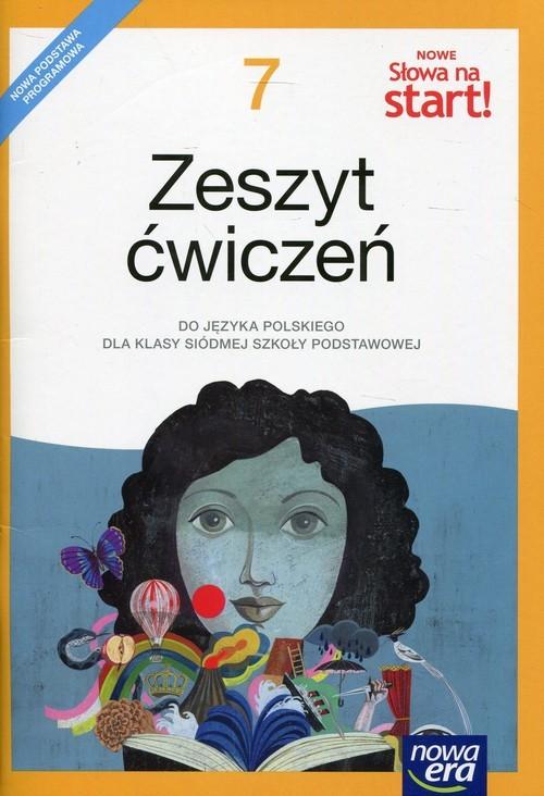 okładka Nowe Słowa na start 7 Zeszyt ćwiczeń Szkoła podstawowa, Książka | Joanna Kuchta, Małgorzata Ginter, Kościerzyńs