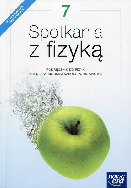 okładka Spotkania z fizyką 7 Podręcznik Szkoła podstawowaksiążka |  | Grażyna Francuz-Ornat, Teresa Kulawik, Nowotn