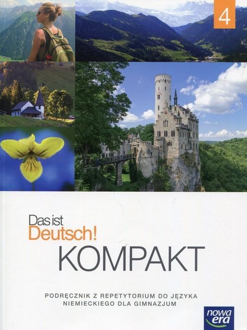okładka Das ist Deutsch! Kompakt 4 Język niemiecki Podręcznik z repetytorium + 2CD Gimnazjum, Książka | Mróz-Dwornikowska Sylwia