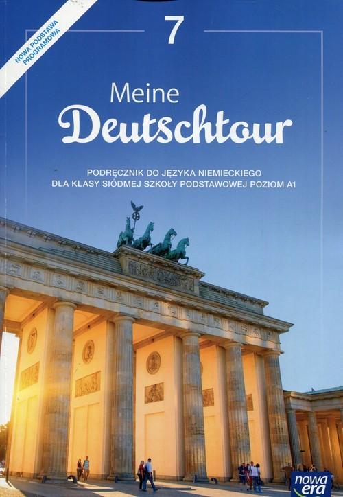 okładka Meine Deutschtour Język niemiecki 7 Podręcznik Poziom A1 Szkoła podstawowa, Książka | Kościelniak-Walewska Ewa