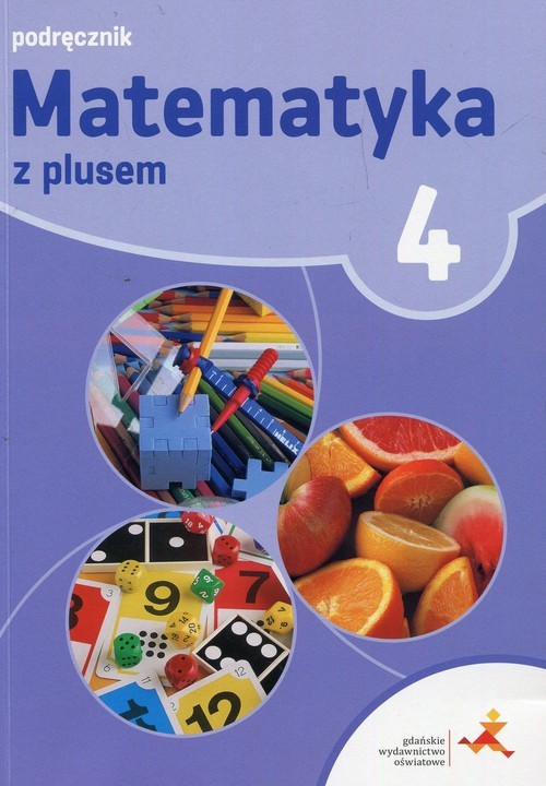 okładka Matematyka z plusem 4 Podręcznik Szkoła podstawowa, Książka | Małgorzata Dobrowolska, Marta Jucewicz, Karpi