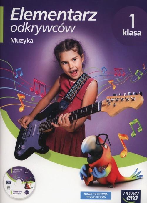 okładka Elementarz odkrywców 1 Muzyka + CD Szkoła podstawowa, Książka | Monika Gromek, Grażyna Kilbach