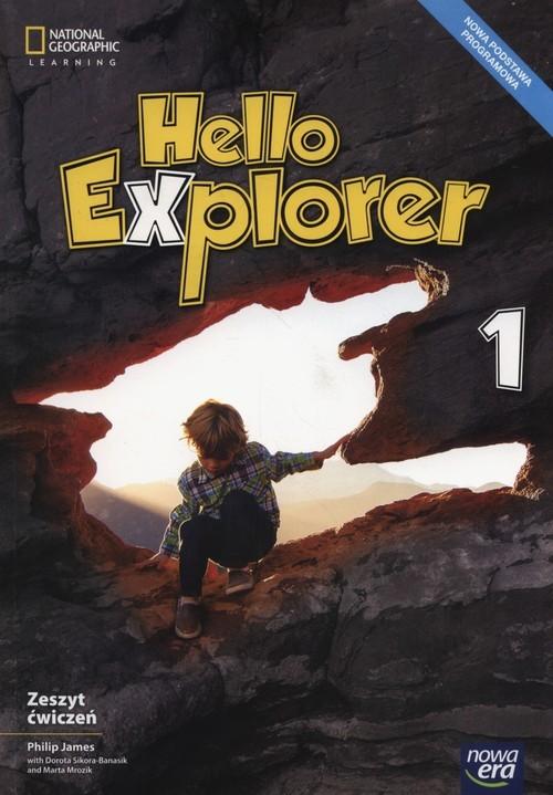 okładka Hello Explorer 1 Zeszyt ćwiczeń Szkoła podstawowa, Książka | Philip James, Dorota Sikora-Banasik, M Mrozik