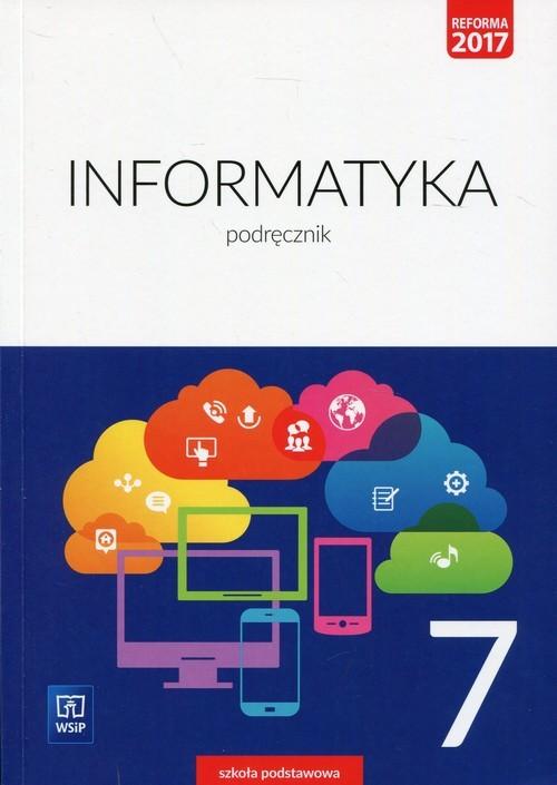 okładka Informatyka 7 Podręcznik Szkoła podstawowa, Książka   Wanda Jochemczyk, Iwona Krajewska-Kranas, Kra