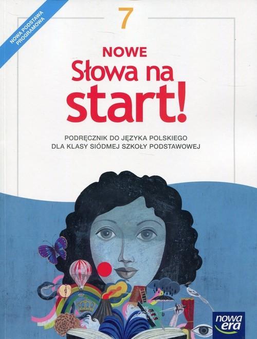 okładka Nowe Słowa na start! 7 Podręcznik Szkoła podstawowa, Książka | Joanna Kościerzyńska, Małgorzata Chmiel, Szul