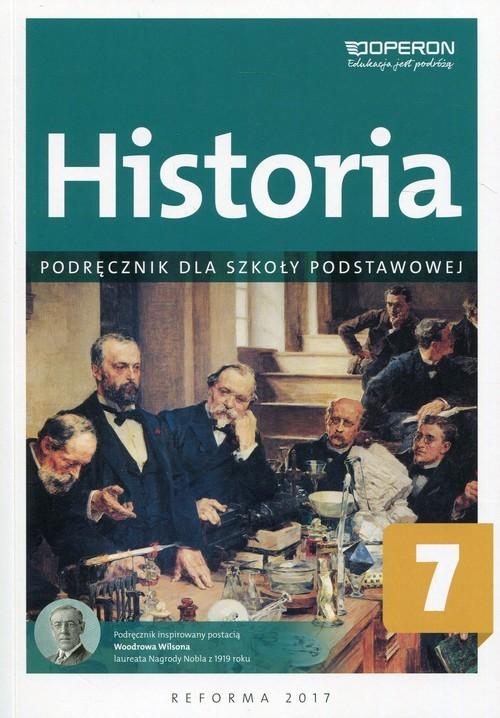 okładka Historia 7 Podręcznik Szkoła podstawowa, Książka | Janusz Ustrzycki, Mirosław Ustrzycki