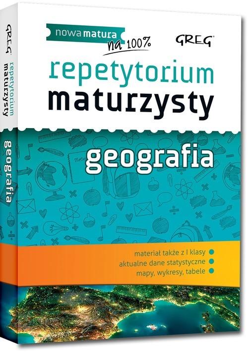 okładka Repetytorium maturzysty Geografia, Książka | Łękawa Agnieszka
