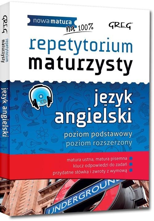 okładka Repetytorium maturzysty język angielski + CD, Książka | Dorota Ciężkowska-Gajda, Daniela MacIsaac
