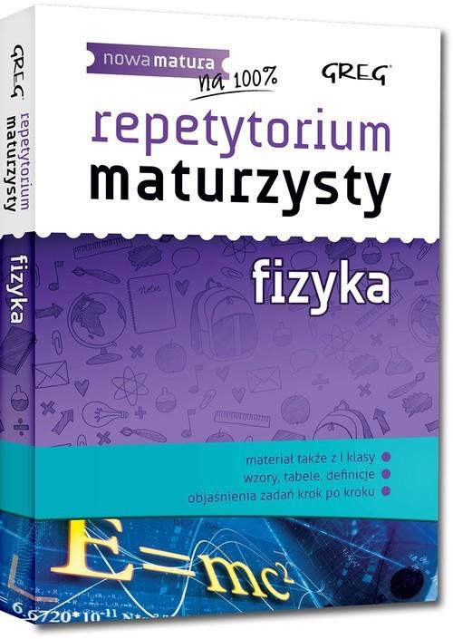 okładka Repetytorium maturzysty fizyka, Książka | Senderska Elżbieta