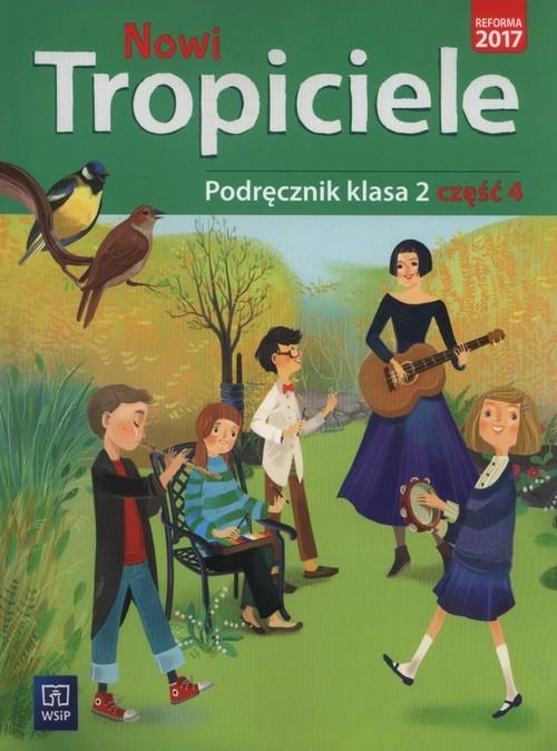 okładka Nowi tropiciele 2 Podręcznik część 4 Szkoła podstawowa, Książka | Aldona Danielewicz-Malinowska, Jolan Dymarska